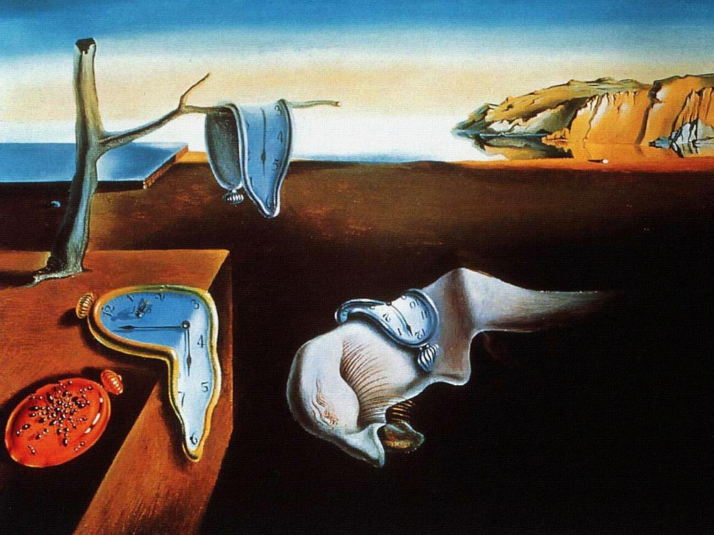 """The Persistence of Memory"" by Salvador Dali (via    Lucid Practice   )"