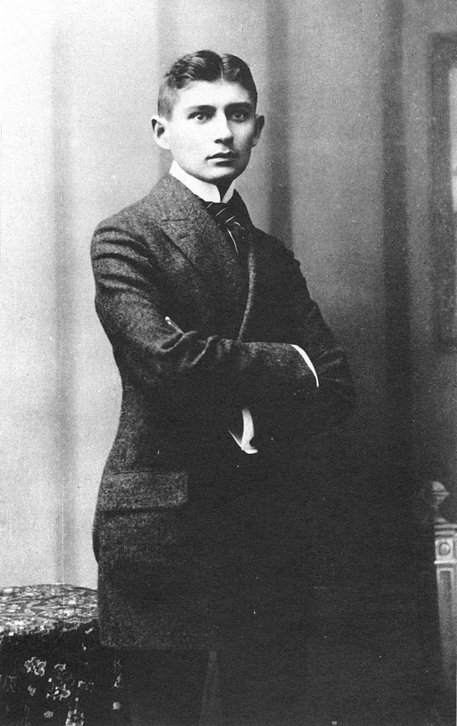 Franz Kafka (via Wikimedia Commons)