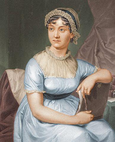 Jane Austen (via Wikimedia Commons)