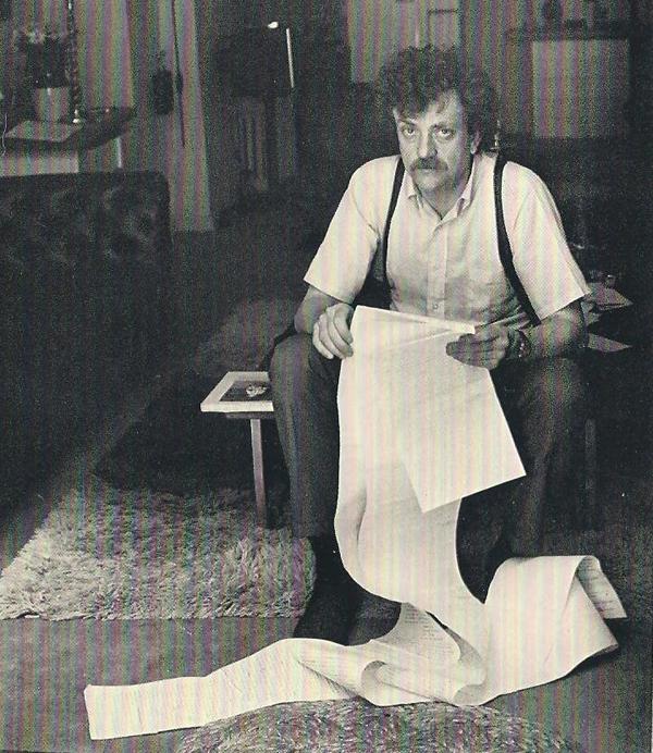 Kurt Vonnegut (via Flavorwire)