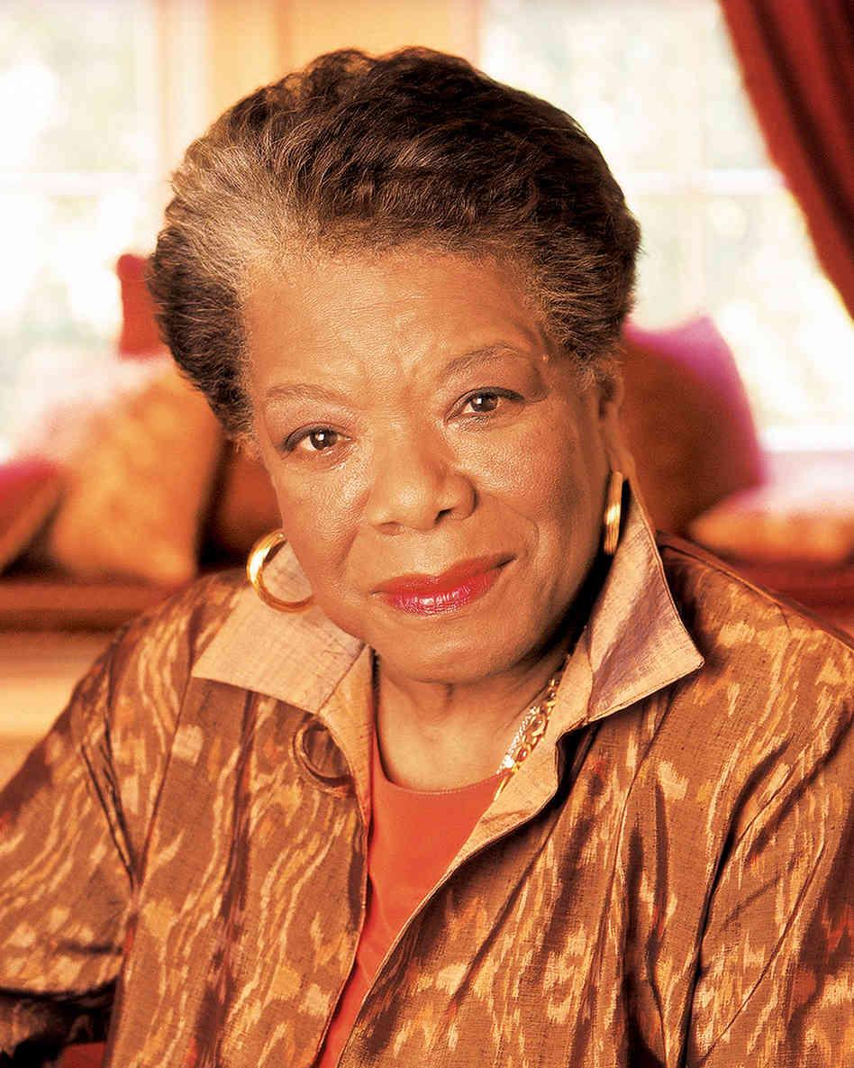 Maya Angelou (via NPR)