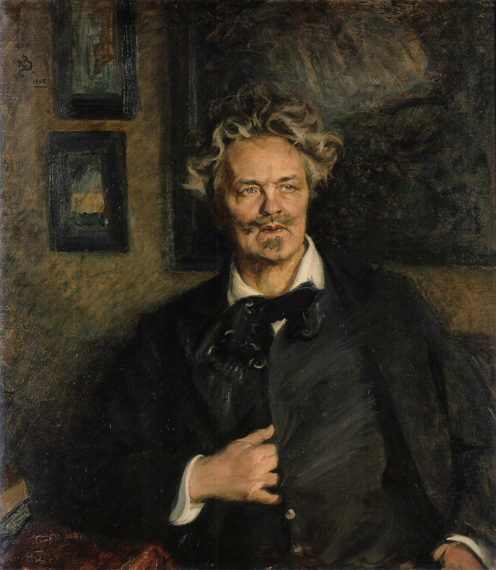 August Strindberg (via    Wikipedia   )