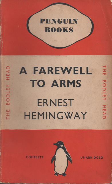 First Penguin Books edition of A Farewell to Arms by Ernest Hemingway (via Flickr)