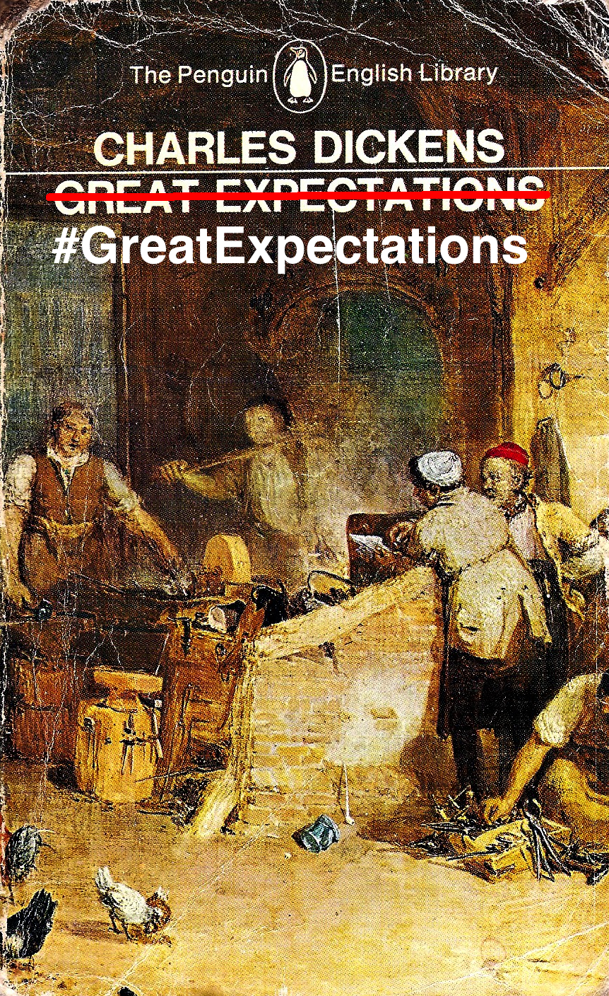 Great Expectations by Charles Dickens; #GreatExpectations by Us