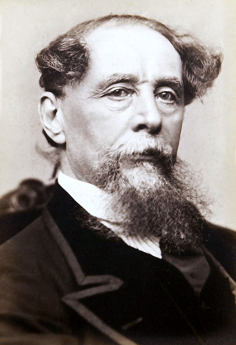 Charles Dickens (via    Wikipedia   )