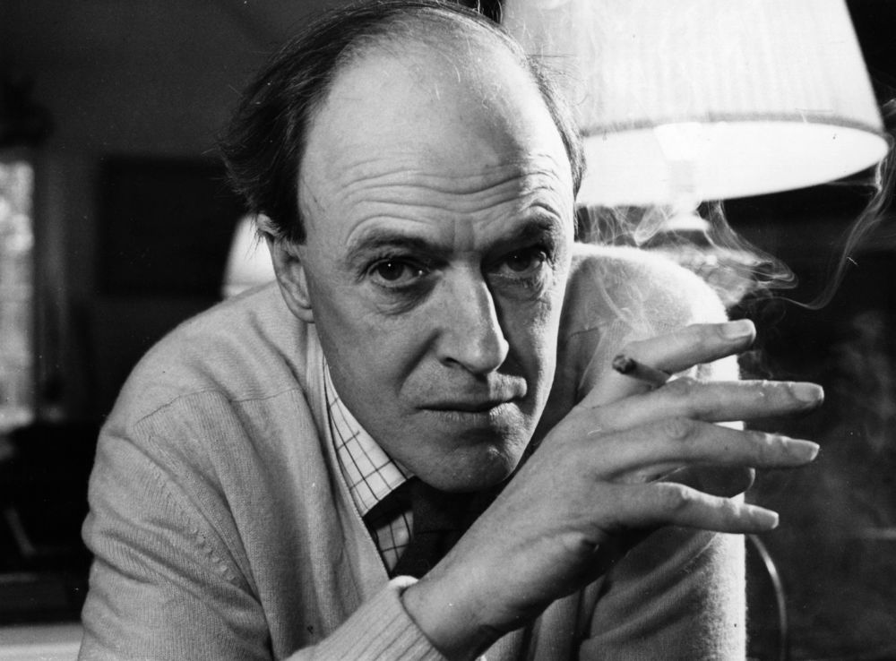 Roald Dahl (via Mental_Floss)