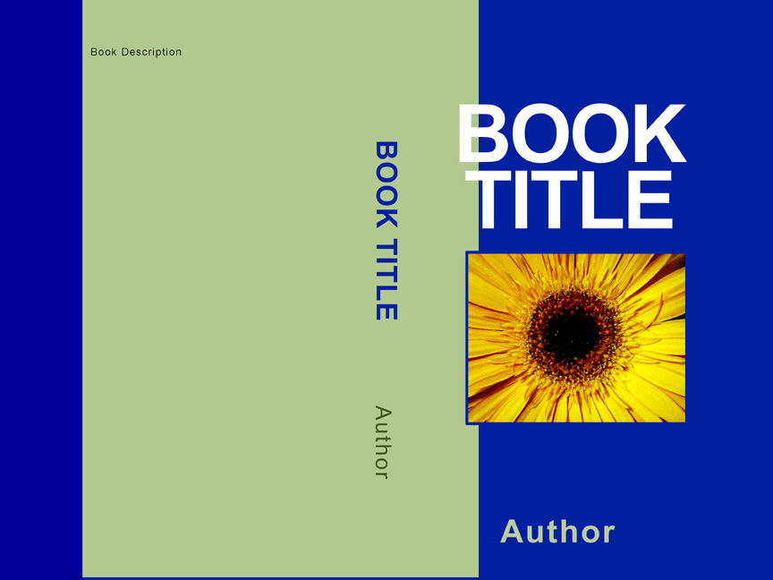Why do the covers of so many self published books look for Design a book jacket template