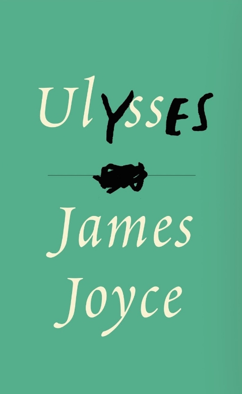 Ulysses by James Joyce, cover designed by Peter Mendelsund (via Fonts in Use)