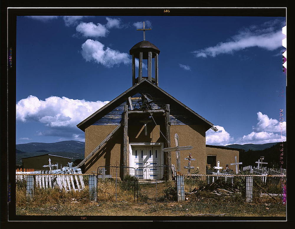 Llano de San Juan, New Mexico Catholic Church (via    F  lickr  )