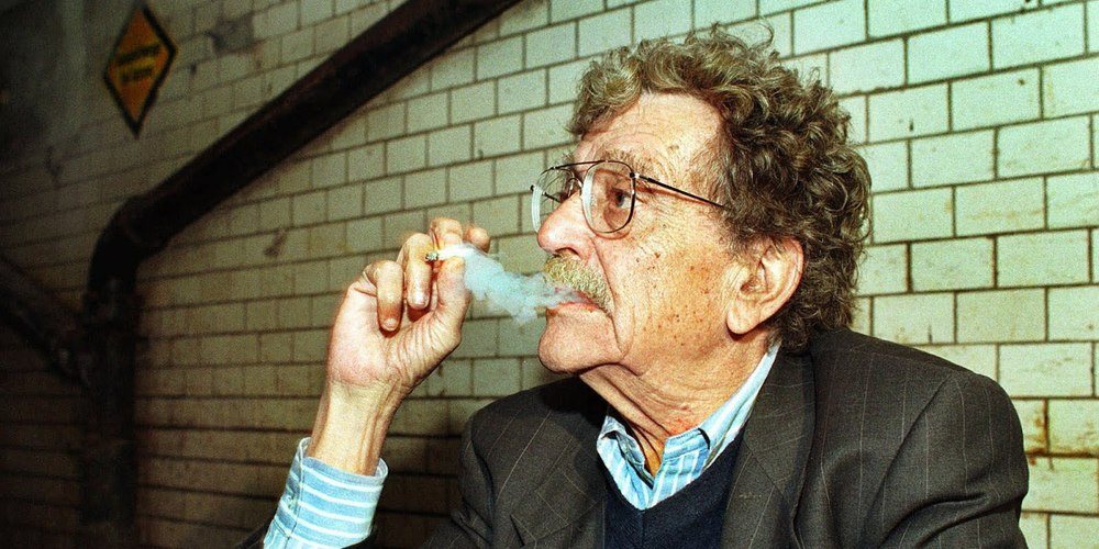 Kurt Vonnegut (via    Huffington Post   )