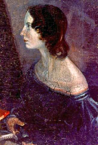 Emily Bronte by Branwell Bronte (via Wikipedia)