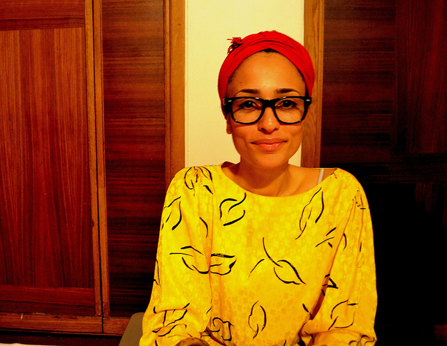 Zadie Smith (via    The Bookshelf   )