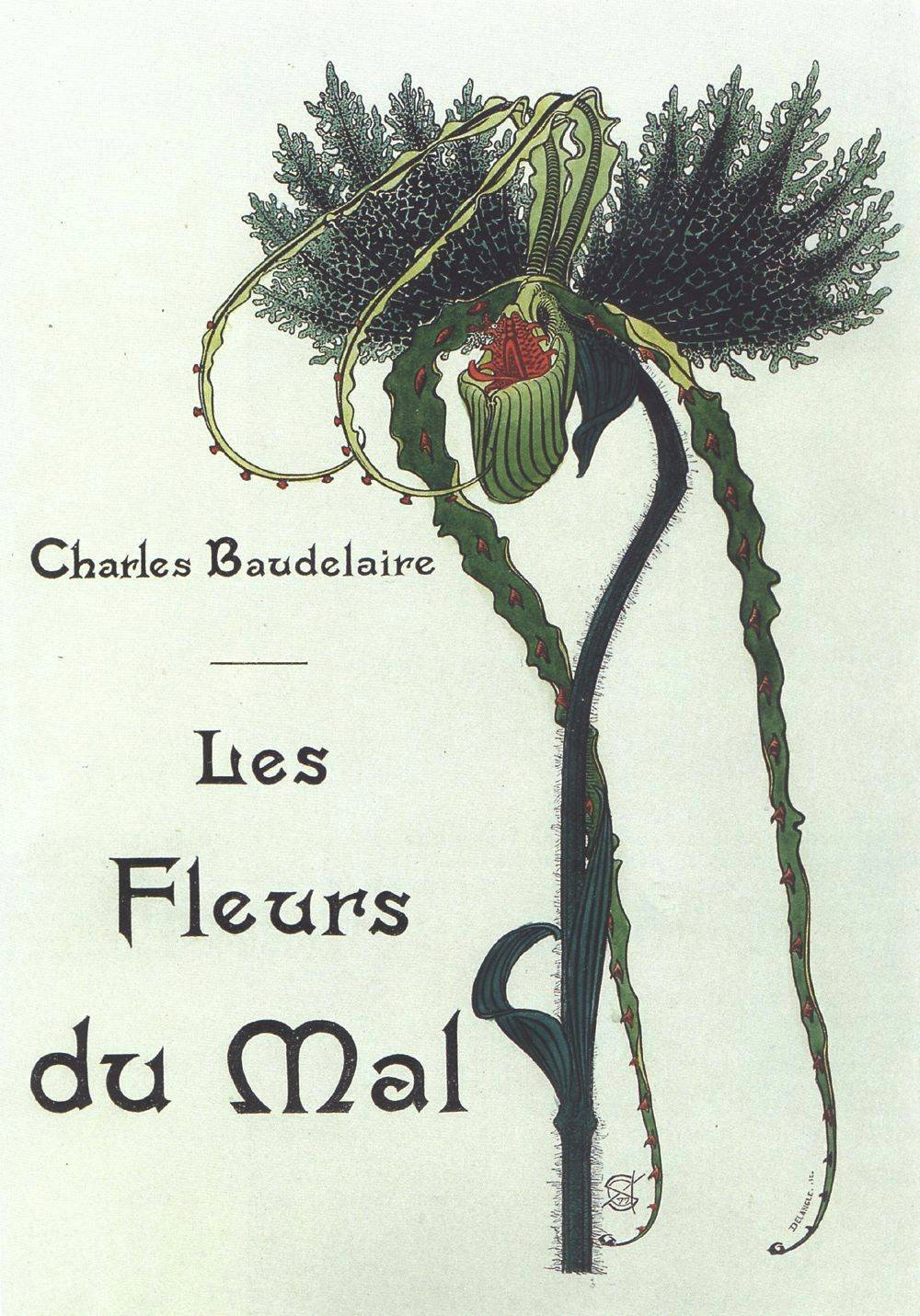 The Flowers of Evil   by Charles Baudelaire (via    Wikipedia   )