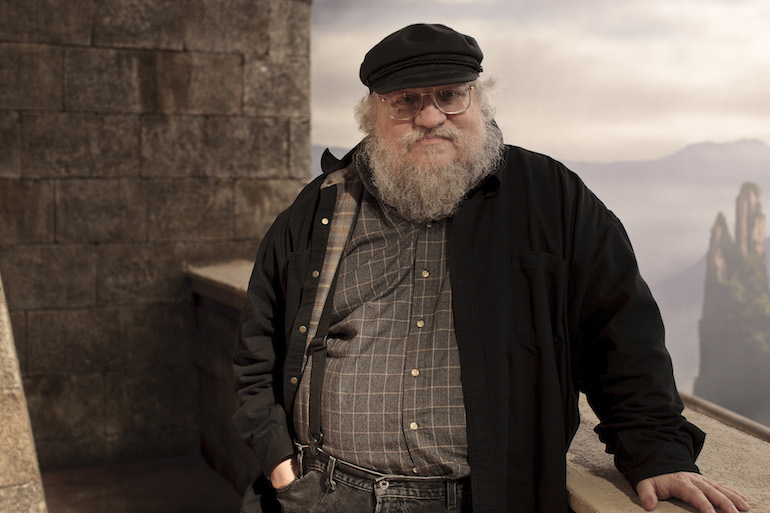 George R. R. Martin (via Sea of Shelves)