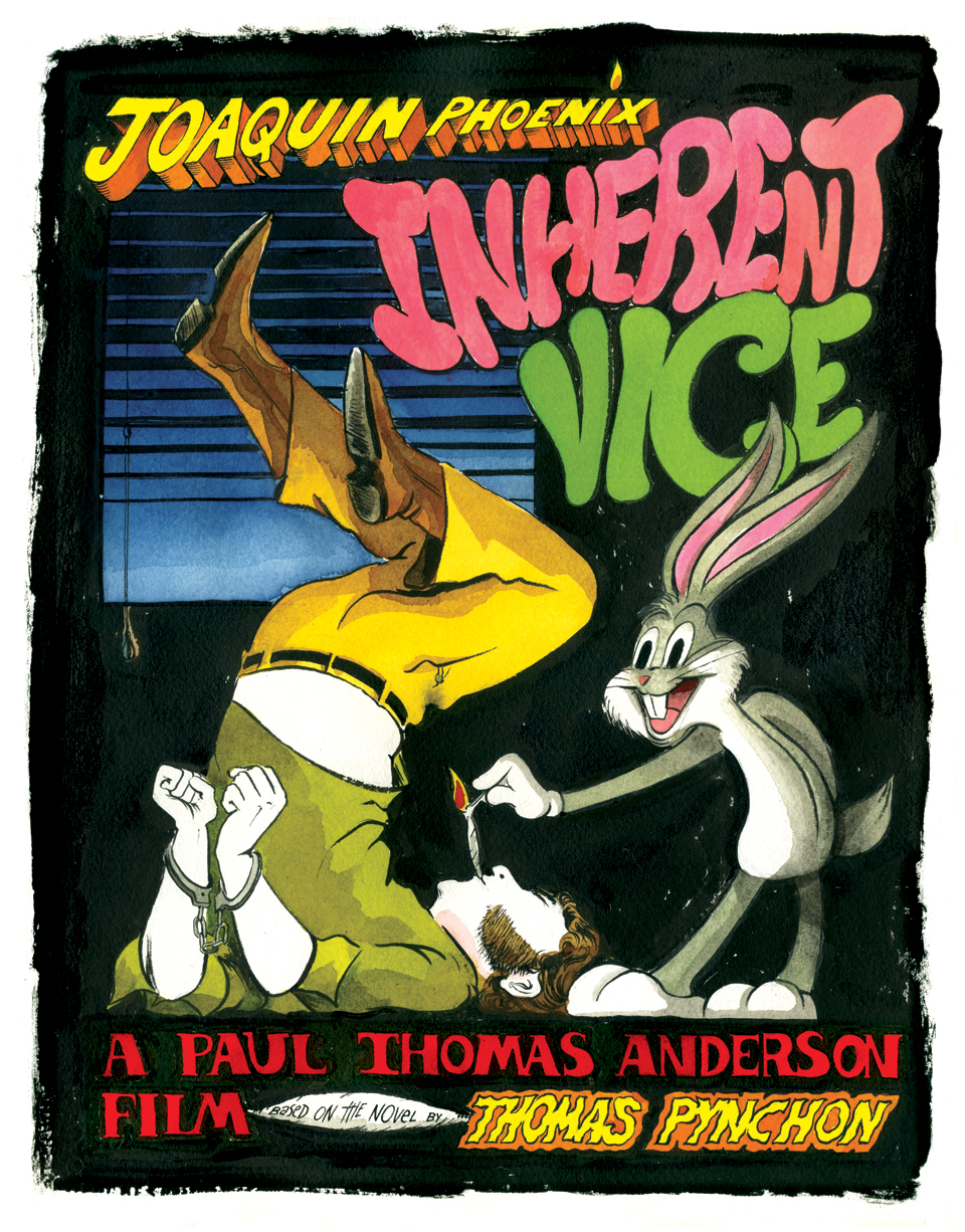 Fan poster for   Inherent Vice   (via    Alex Fellows   )