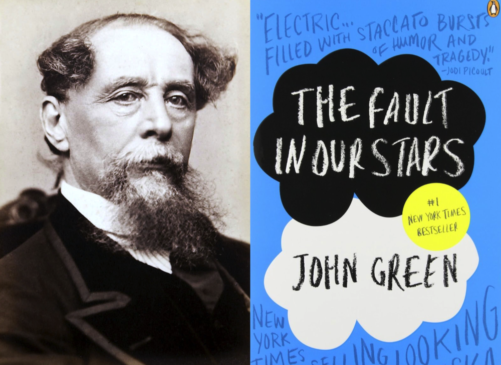 Charles Dickens and The Fault in Our Stars by John Green