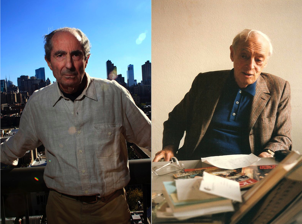 Philip Roth and Saul Bellow
