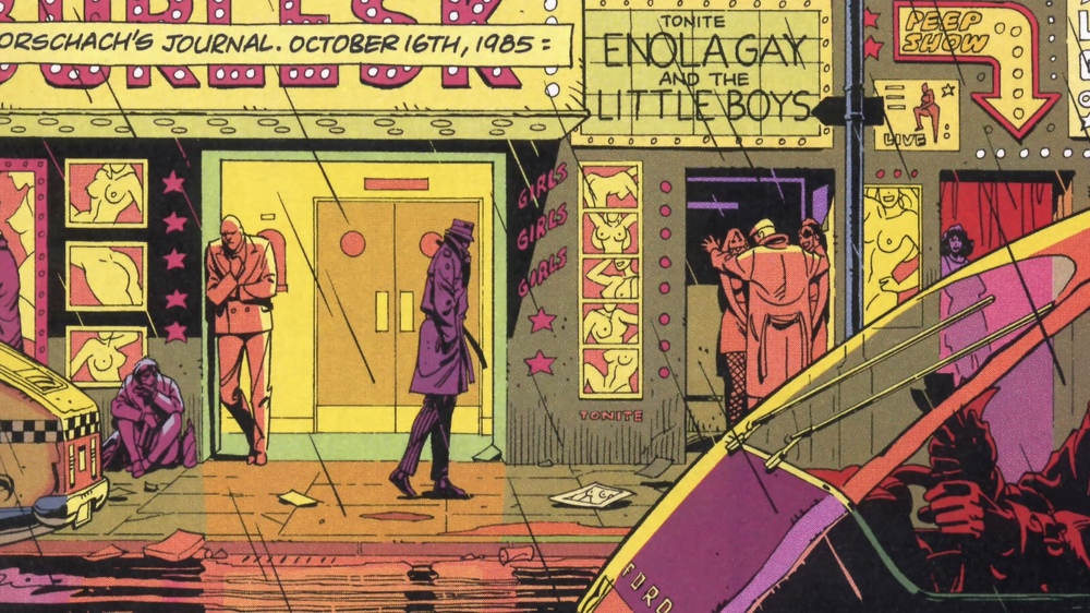 Panel from   Watchmen   (via      Blog de Superheroe  s   )