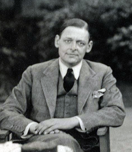 Eliot, 1934 (via      Wikimedia Common  s   )