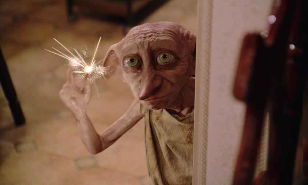 Dobby from film adaptation of   Harry Potter and the Chamber of Secrets   (via    Far Far Away Site   )
