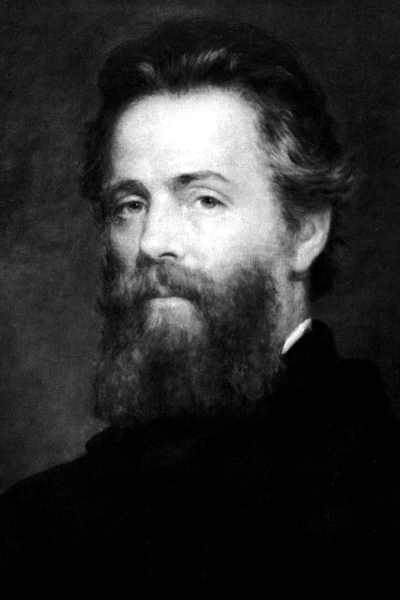 Herman Melville, 1870 (via    Wikipedia   )