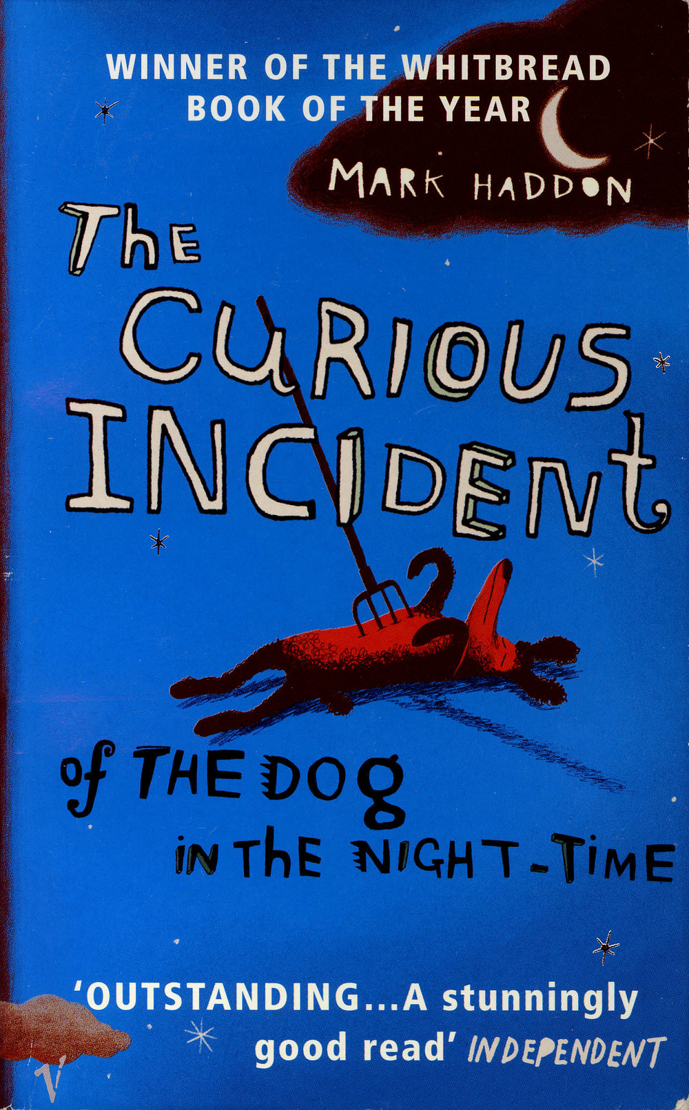 The Curious Incident of the Dog in the Night-Time   by Mark Haddon (via    Amber Lanier Nagle   )