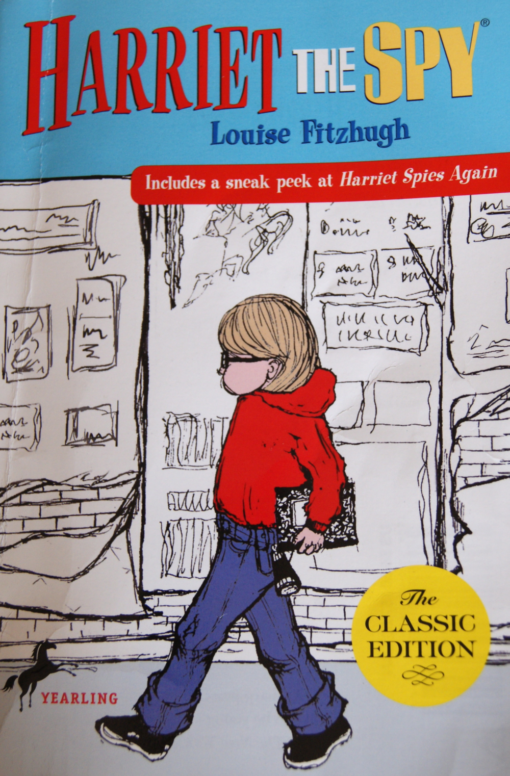Harriet the Spy   by Louise Fitzhugh (via    Remarkably   )
