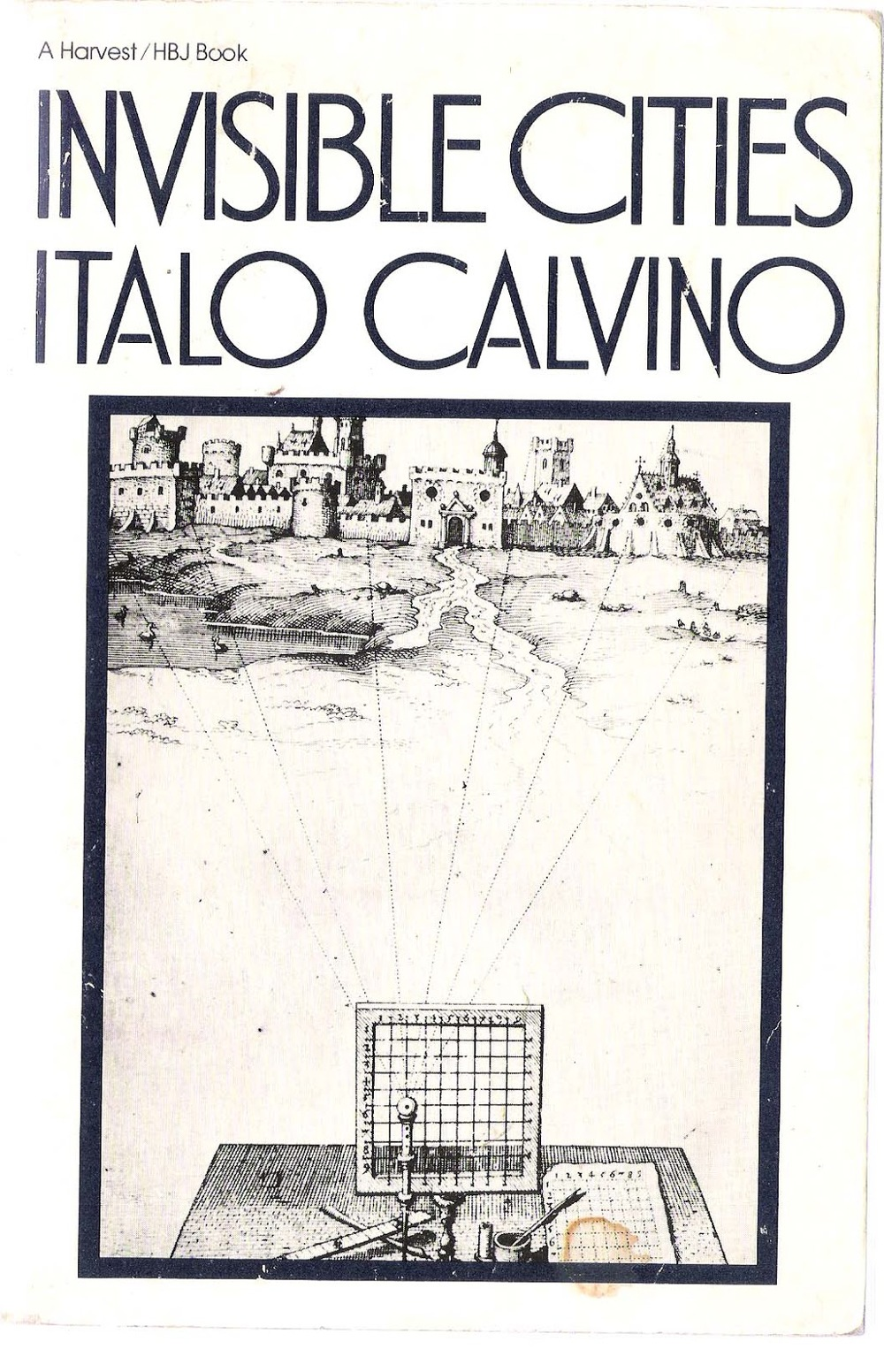 invisible cities calvino Sometimes i like to think that italo calvino's invisible cities saved my life, but it might be more accurate to say it saved my mind i was working a tedious job at.