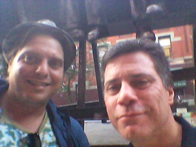 Genis and Joe Diamond, 2014