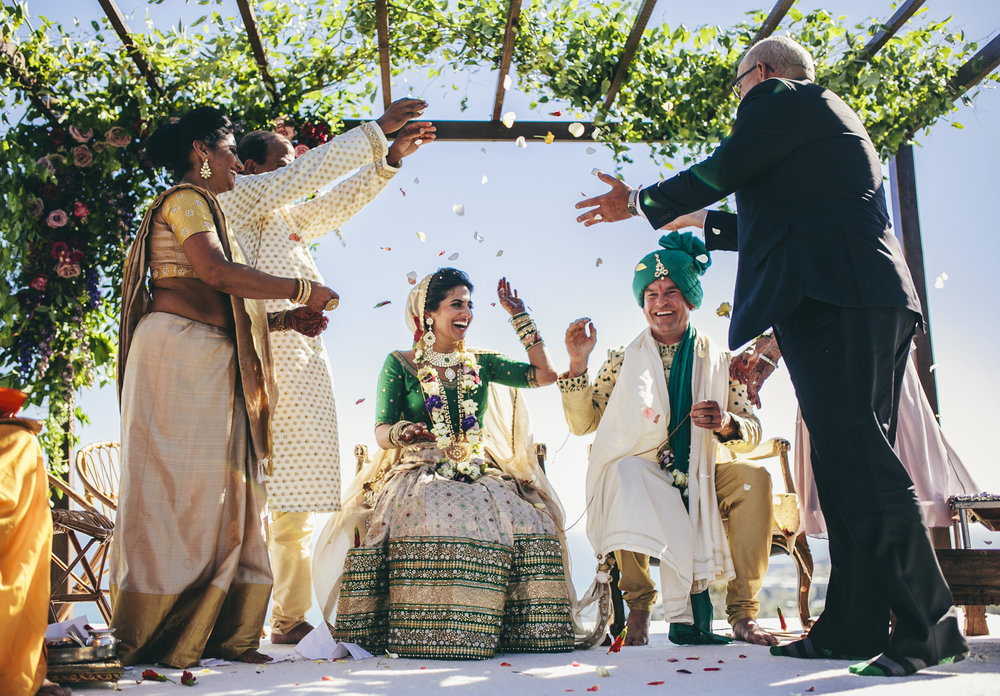 southern california indian wedding ceremony rancho palos verdes