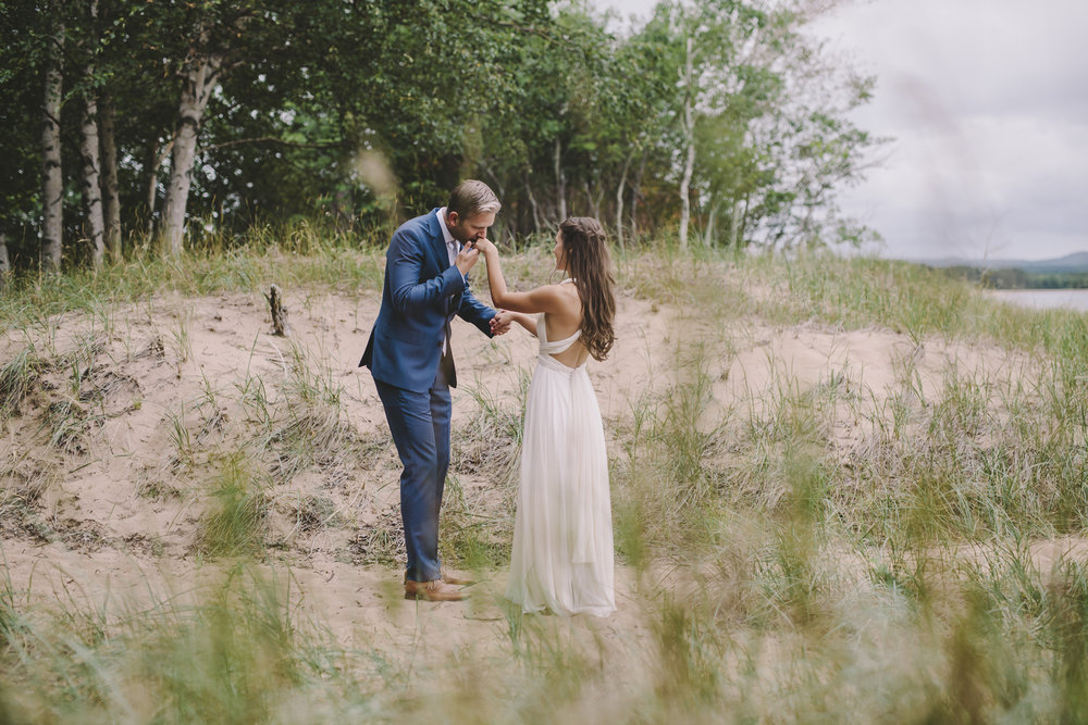 Brandon werth michigan wedding photographer