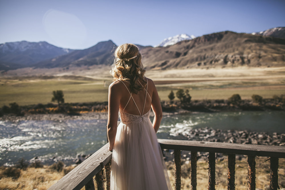 yellowstone national park wedding photography gardiner montana
