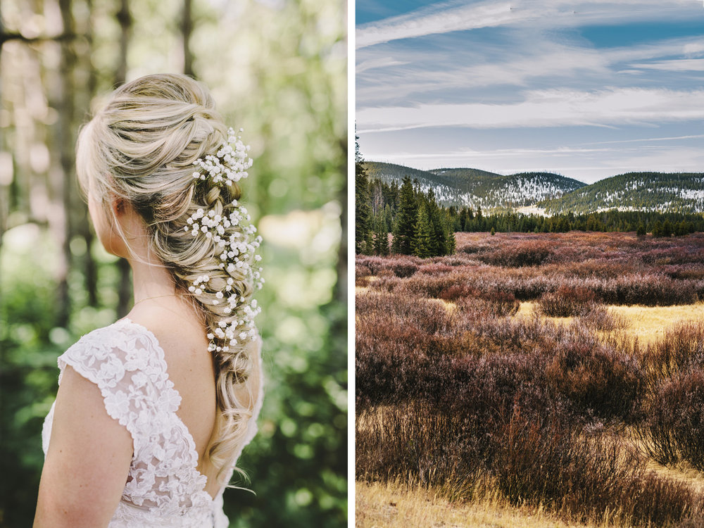 yellowstone national park wedding photographer bride