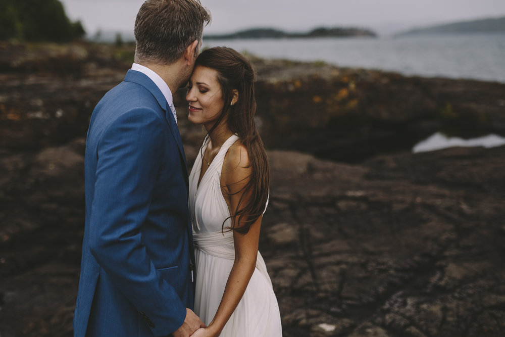 Brandon werth marquette michigan wedding photographer black rocks