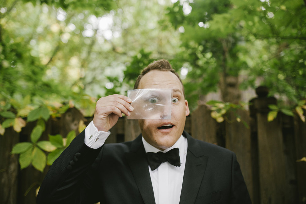 Brandon werth minnesota wedding photographer minneapolis magician groom jared sherlock