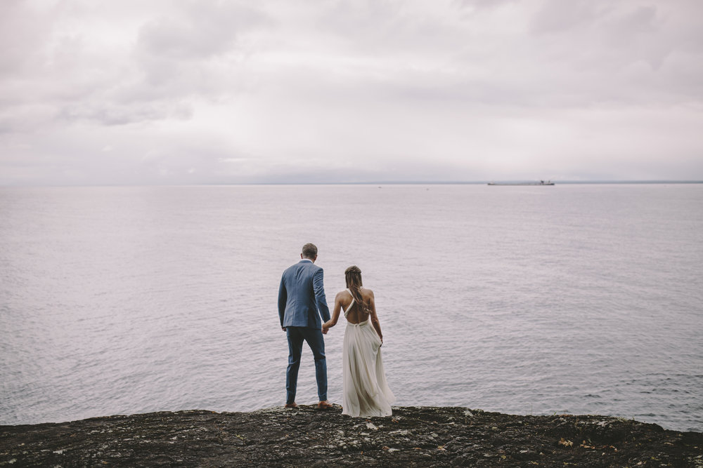 Brandon werth marquette michigan wedding photographer black rocks presque isle