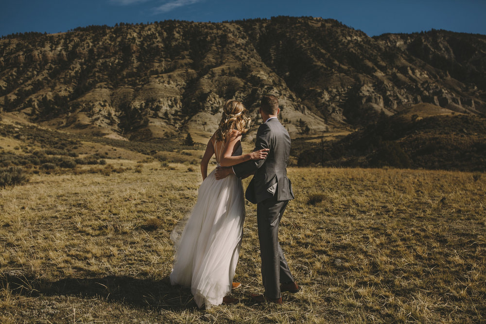 yellowstone national park wedding photographer brandon werth chico hot springs montana
