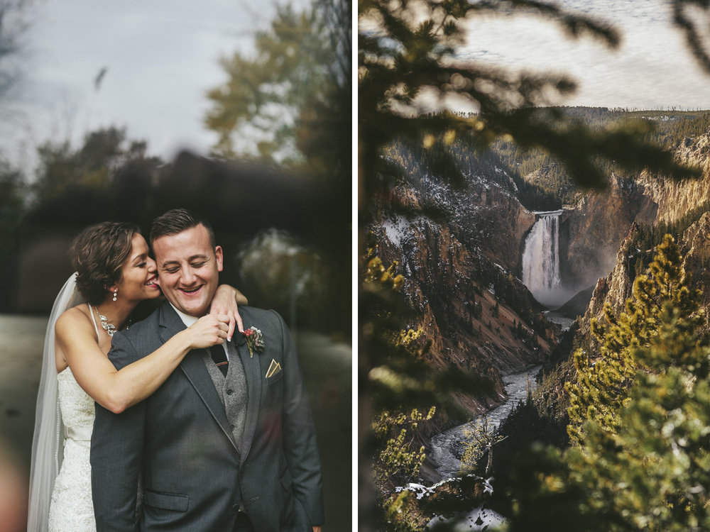 Brandon werth minnesota wedding photographer yellowstone national park grand canyon