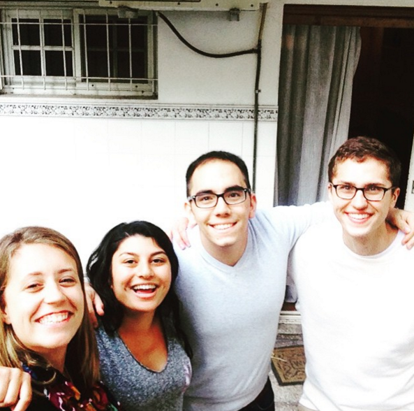 A few Fellows from the Buenos Aires Sage Corps Cohort, Summer 2015