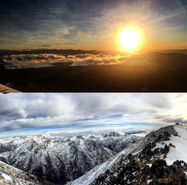 View from the top of Argentina's mountains (Photo Cred: Giray)