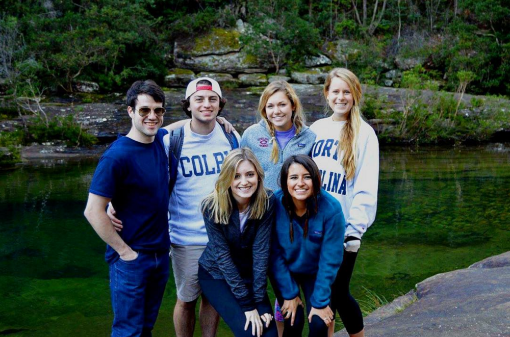 Sage Corps students during their study and intern abroad experience.