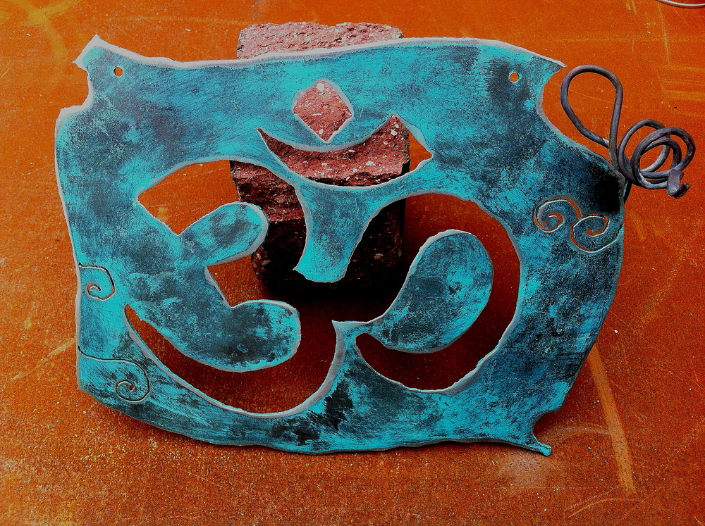 """Om"" wall decor"