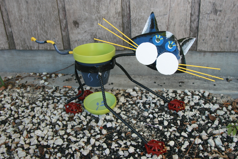 "Cat Planter (""Molly"")"