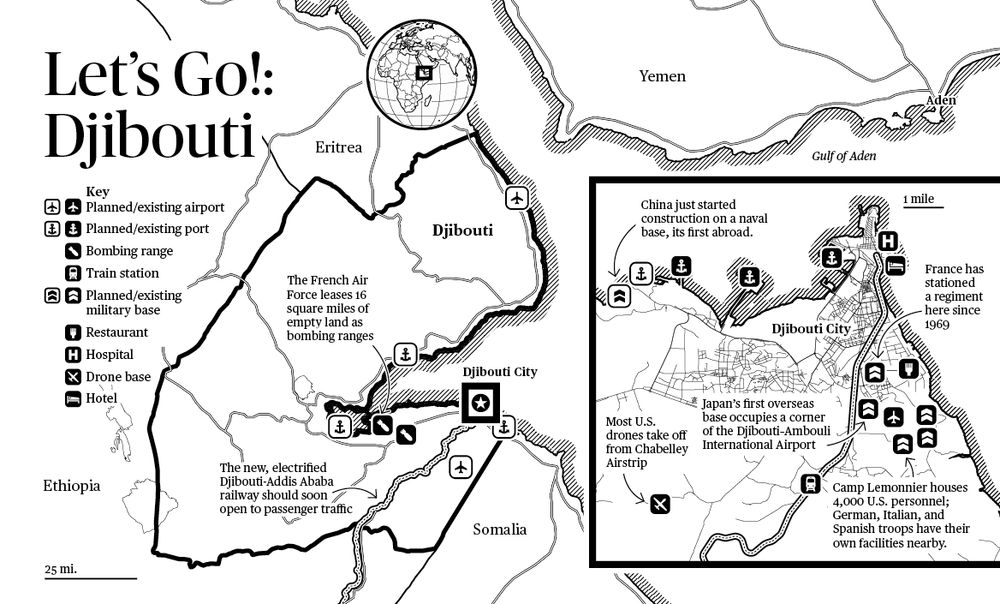Why not stop by, see the sights, build a port, station some troops? Djibouti: It's All Happening Here For Some Reason!™