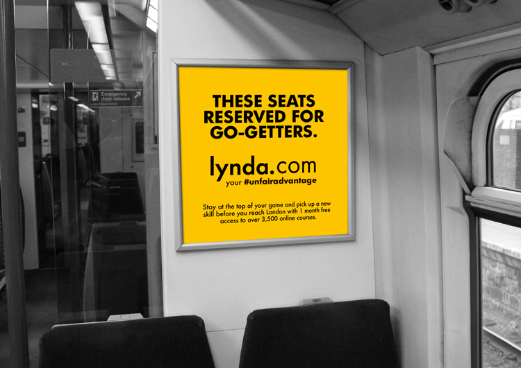 The campaign aimed to create a kind of jealousy amongst non-subscribers. No-one wants to feel like they're missing out, so highlighting areas of perceived unfairness — in this case on busy commuter trains — seems like a perfect opportunity.