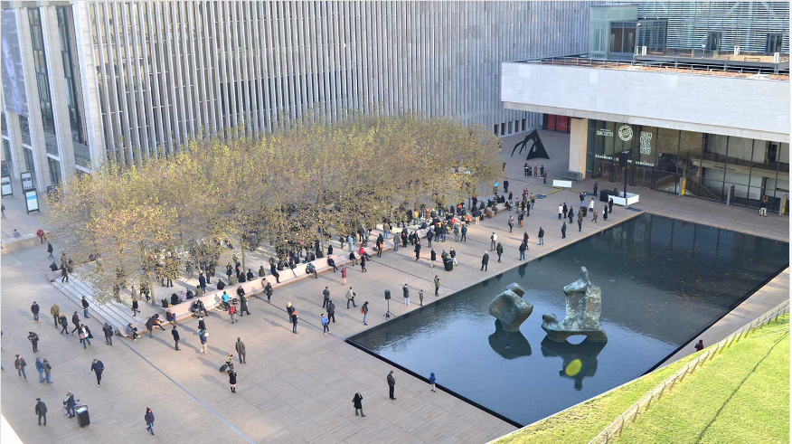 Lincoln Center Outdoor Space Before Performance