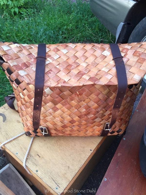 "My sweet carry on made by Beth ""Birch Bark"" Homa-Style"
