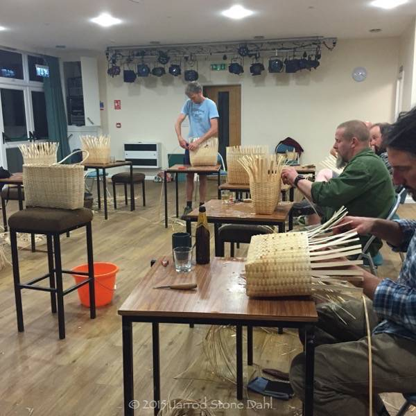 April's ash weaving workshop