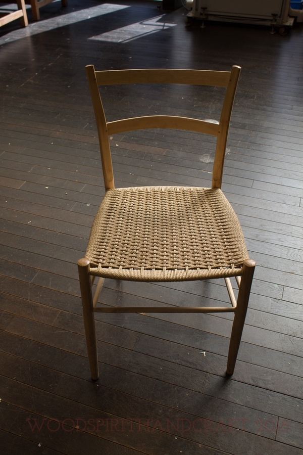 One of Masashi's chairs.