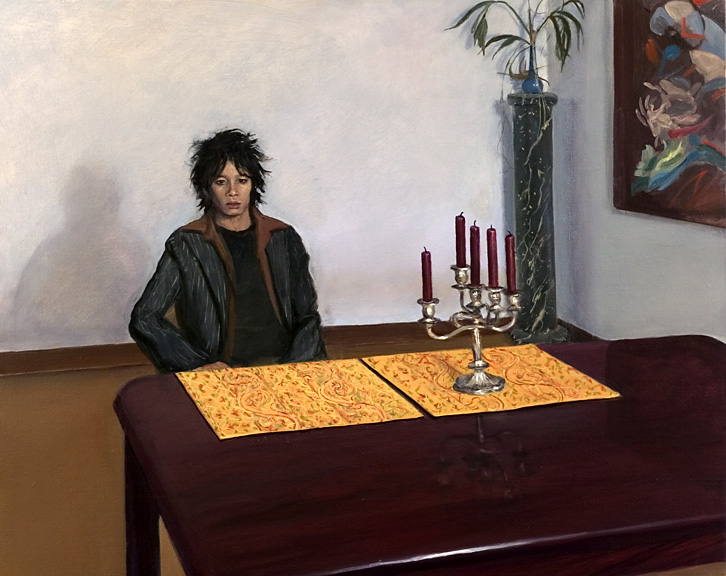 "Untitled , 2004, oil on linen, 24""x 30"""